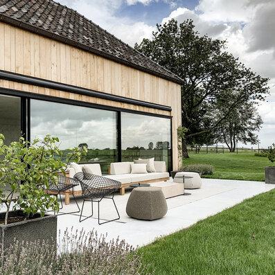Carmetum Project Paola Lenti Tribu Pure sofa Bertoila Knoll outdoor tapijt