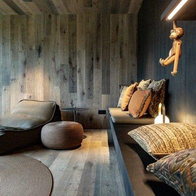 Chambre d'hiver cosy