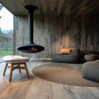 Moments de pure détente à la cheminée