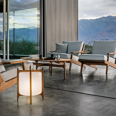 Gloster - Lighting, Chairs, Tables, Sidetables, Benches, Sofas, Accessory, Loungers